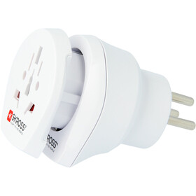 SKROSS Combo Outlet Adapter World to Israel